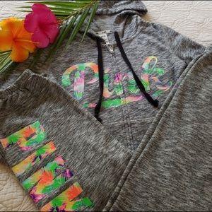 Victoria's Secret pink sweat suit